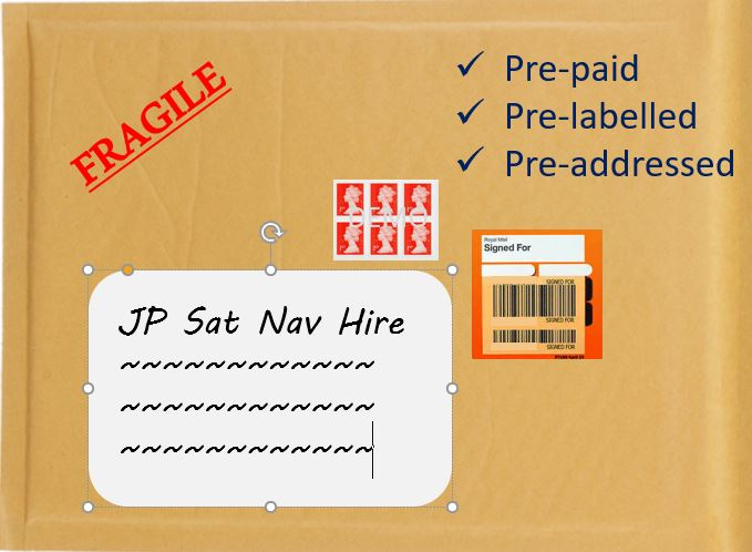 Pre-Paid Return Jiffy Bag